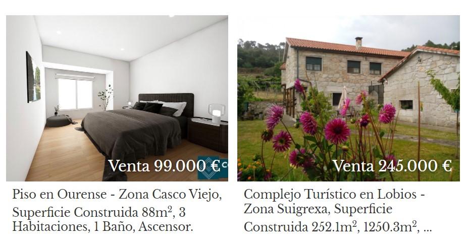 Inmobiliaria en Ourense provincia