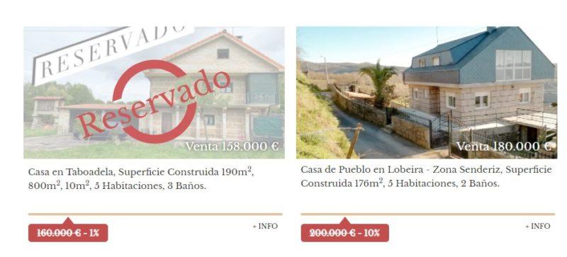Inmobiliaria especializada en venta de casas en Ourense provincia