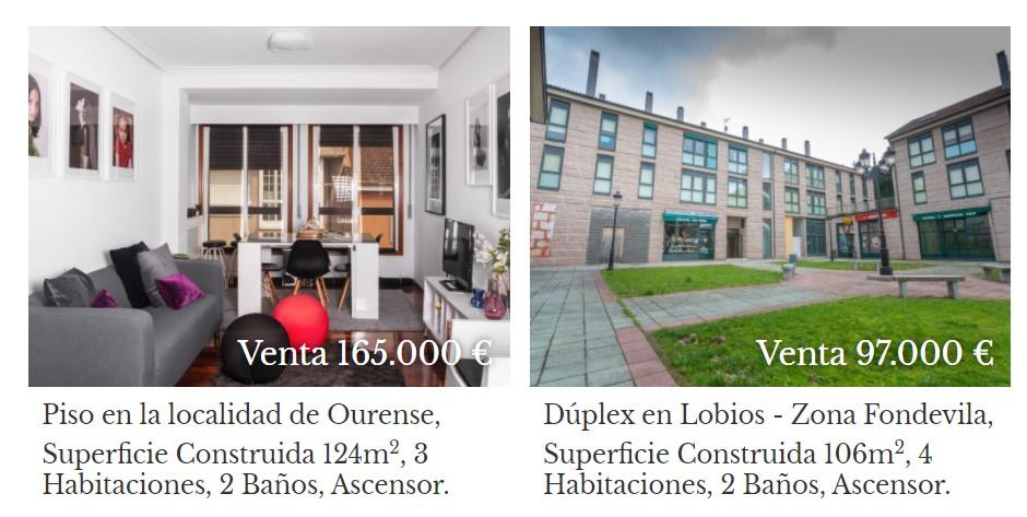 Propiedades que puedes comprar en Ourense