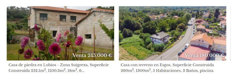 Alquilar, vender o comprar casas en Ourense