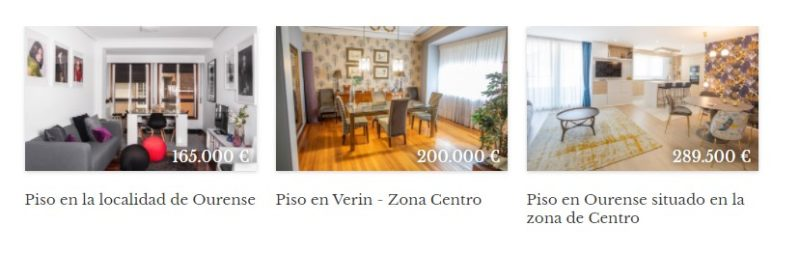 Inmobiliaria en Ourense especializada en pisos